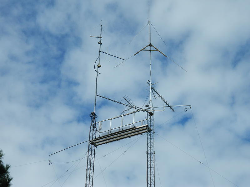 New tower 63' high