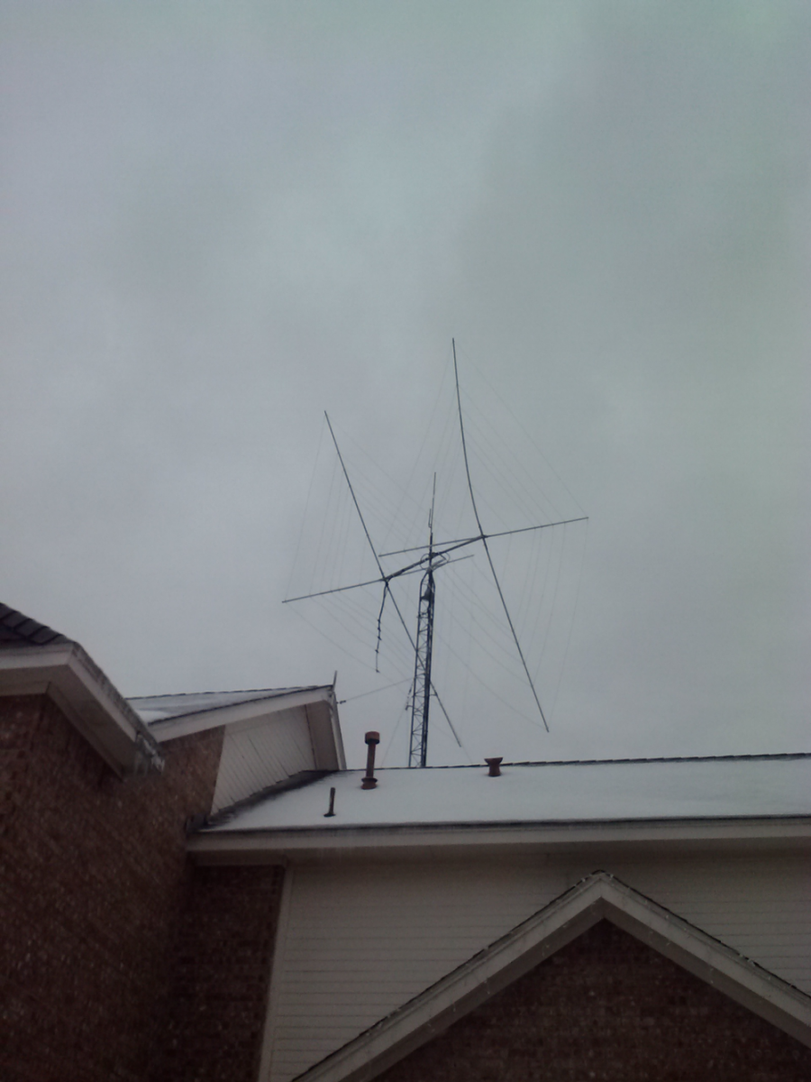 Dave N3BUO 5 Band 2 Element Quad Antenna