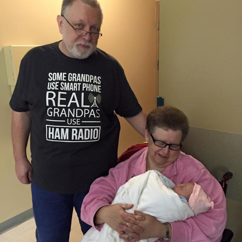 Grandpa N9IO and Grandma N9IOQ