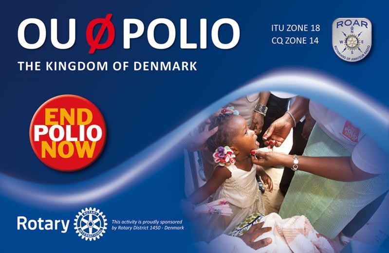 OU0POLIO  Rotary contra la poliomielitis.