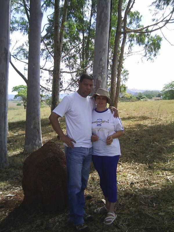 My wife Maria and I