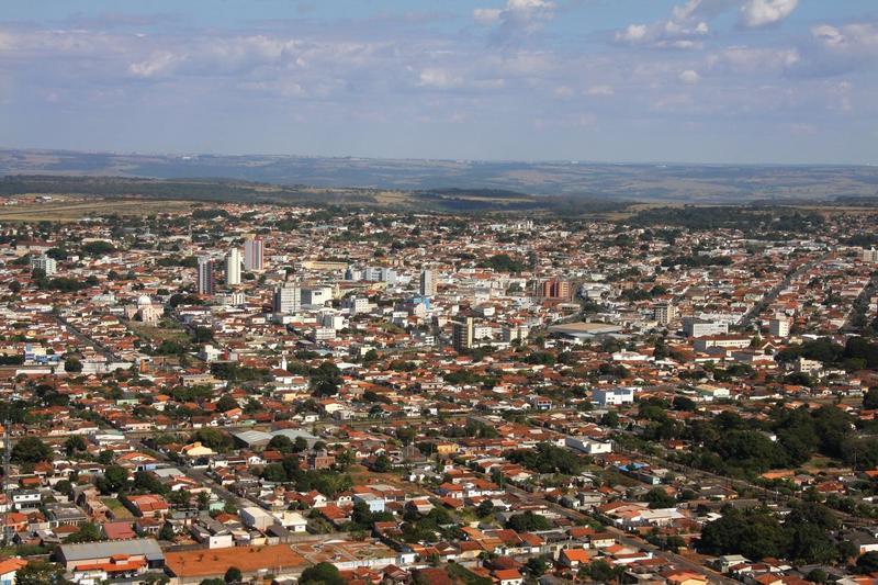 Araguari my city, 956m above sea level