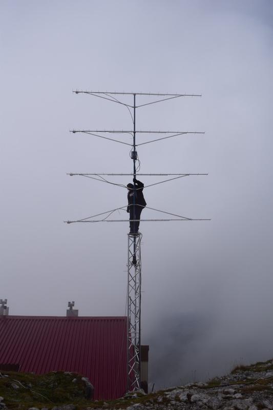 "radio club ""Snenznik""    VHF & up  contest location.  Mountain Sneznik 1794 m   a.s.l.   LOC: JN75FO"