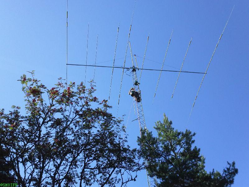 SK0QO Mosley PRO 96 antenna