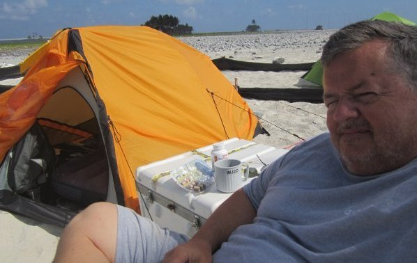 Chilling on Clipperton Island
