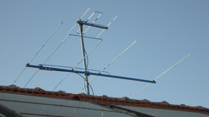 LFA Yagi 4e for 6m /  working with only max. 25W PEP , the legal limit for 6m at the moment in Israeloment