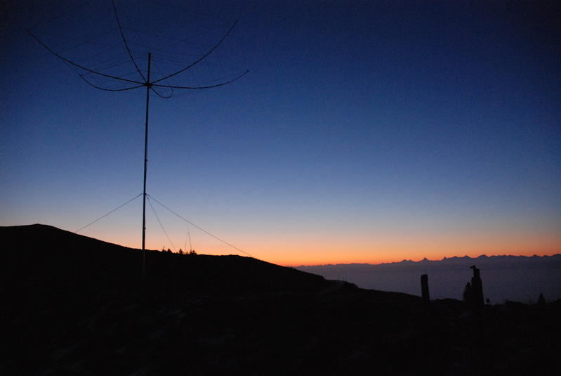 Hexabeam 6 Bands on Chasseral