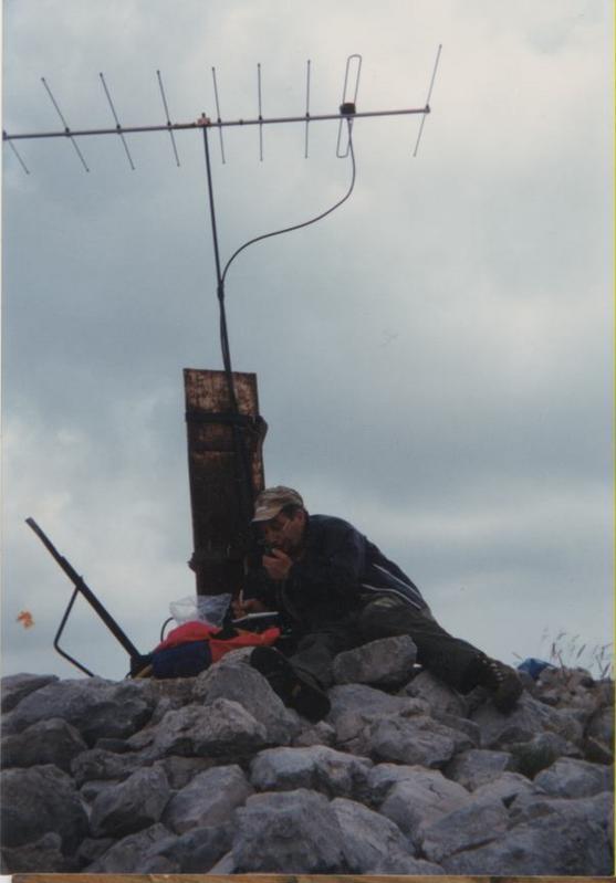1985 - Monte Cervati (SA) 1899m a.s.l.