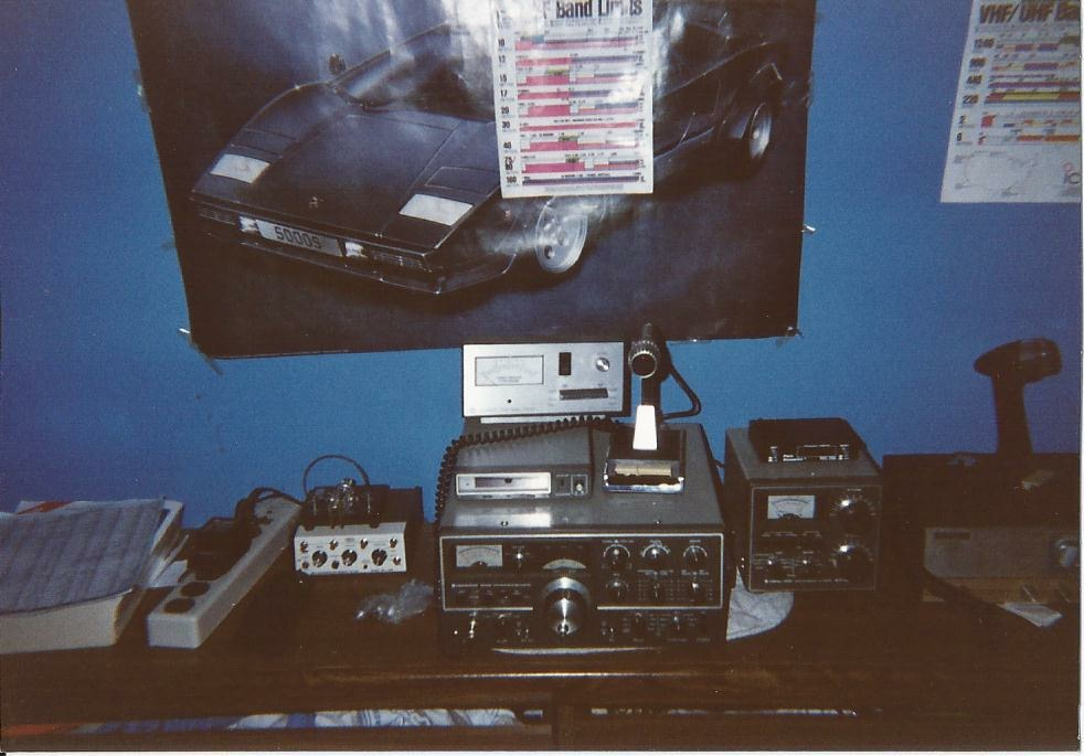 My station in 1991.