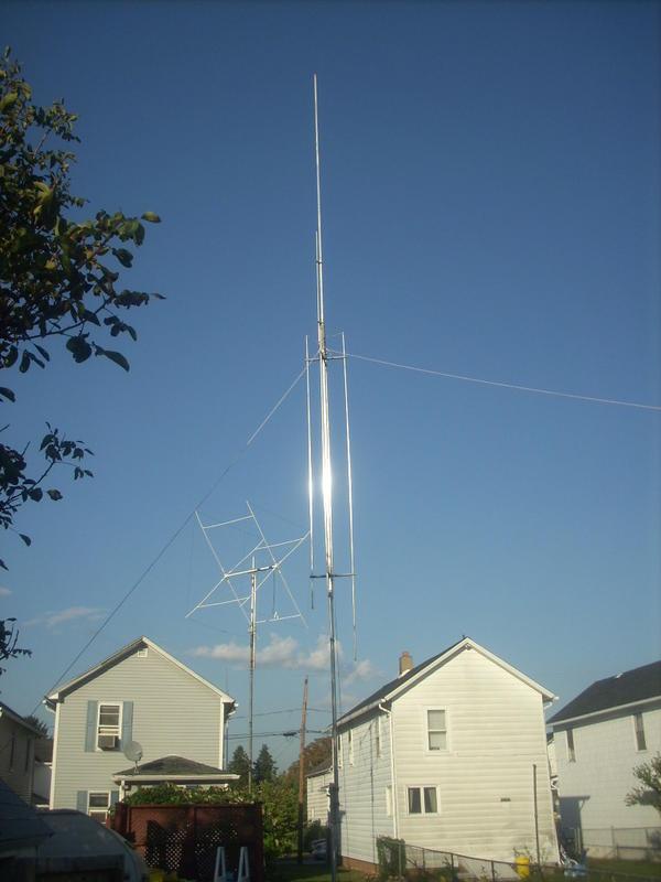 kb3ttp callsign lookup by qrz com gap titan verticle and homemade 10m monoband quad
