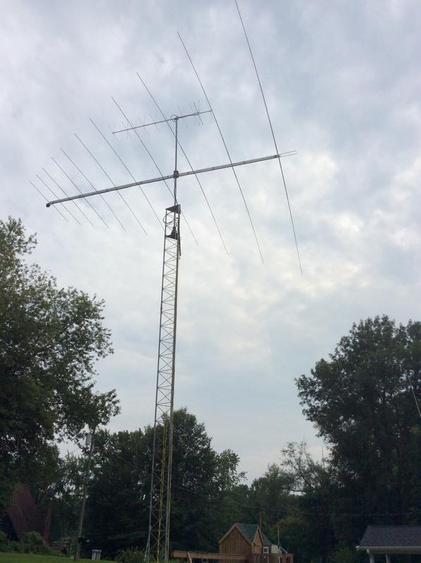 NM9P's Tennadyne T-11 at 38 ft. (11.5 Meters)