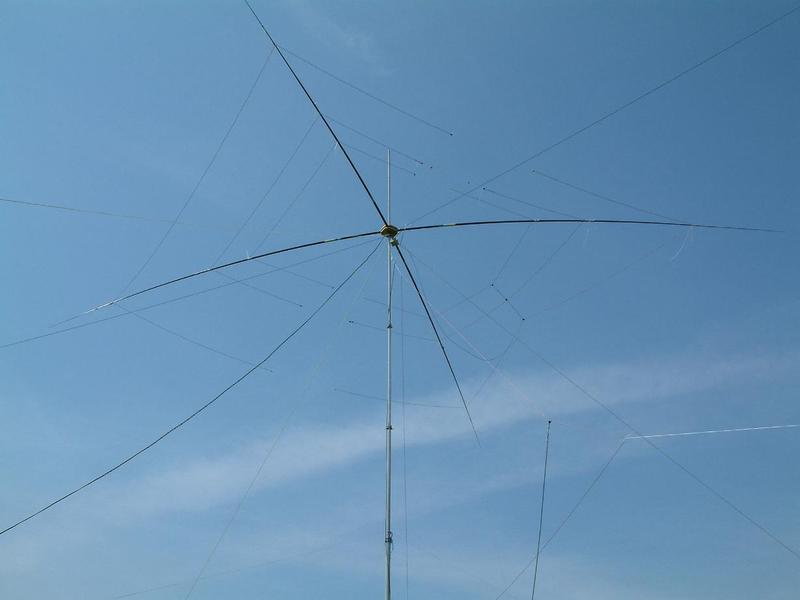 since 2004: 2-ele-3band-beam (moxon-style) - homemade
