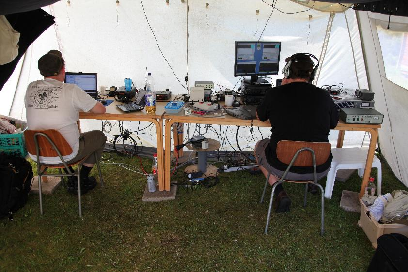 2010: BPSK31-station and EME-station (JT65)