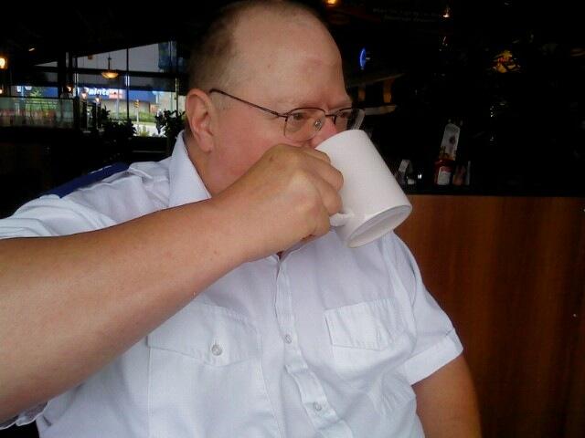 I like me coffee