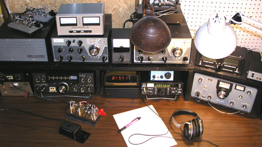 Drake B-Line along with some QRP Gear