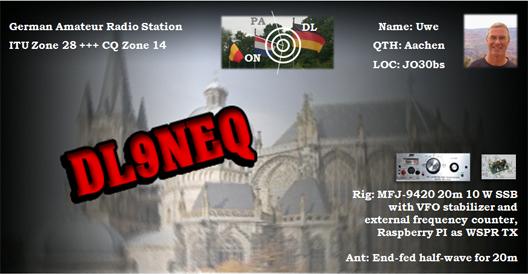 DL9NEQ - Callsign Lookup by QRZ Ham Radio