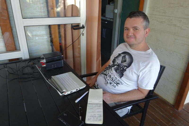 Portable Station in JN00JU, working JT-65