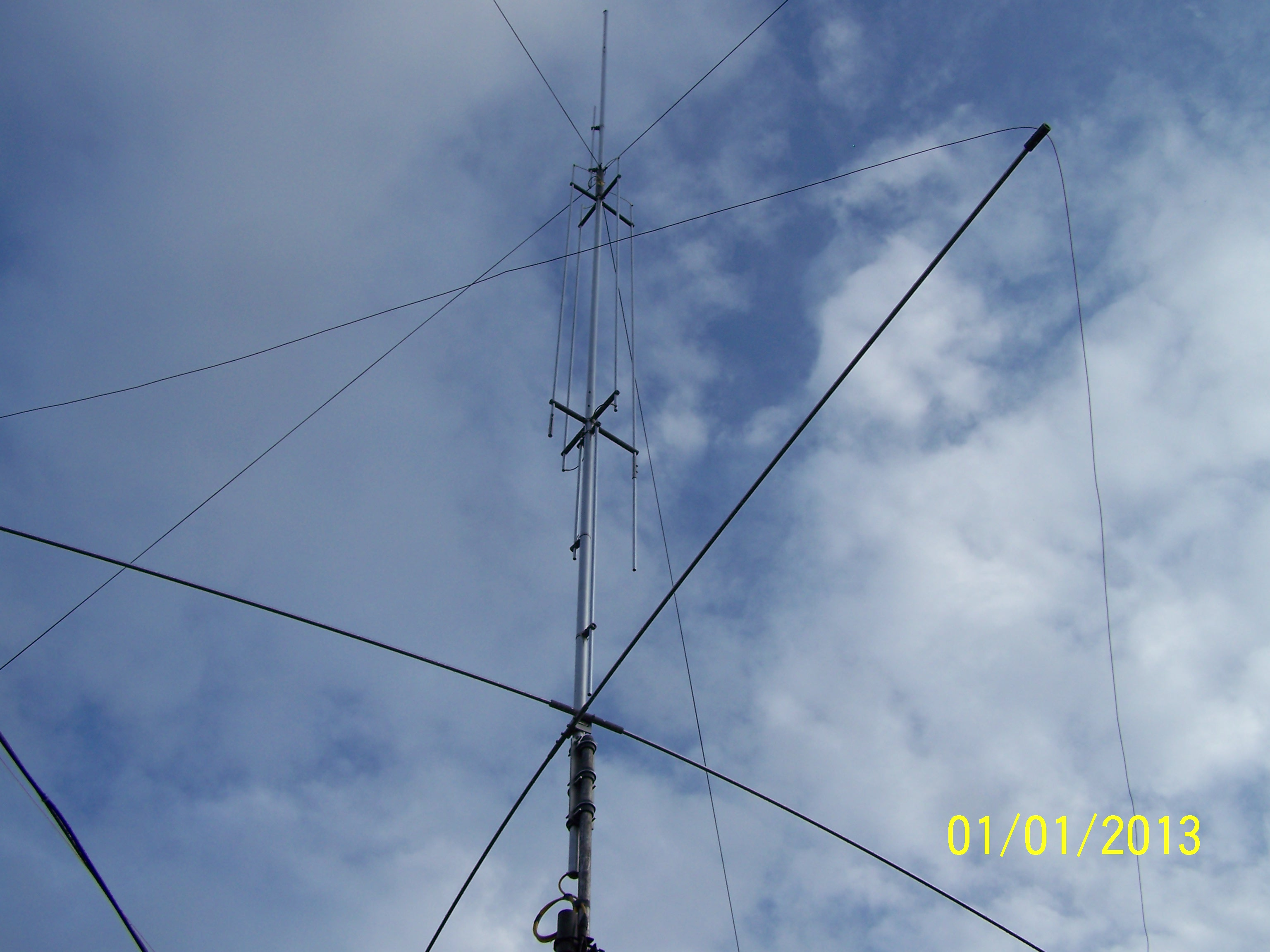Gap amateur antenna that