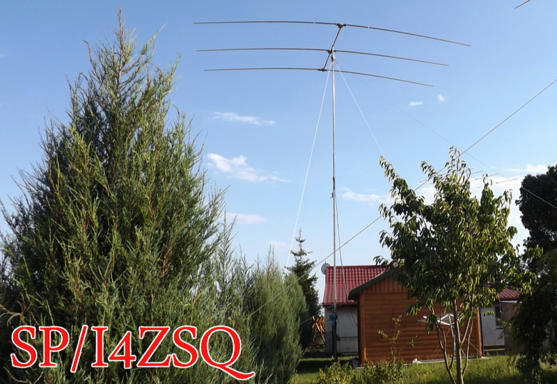 MY NEW ANTENNA IN POLAND