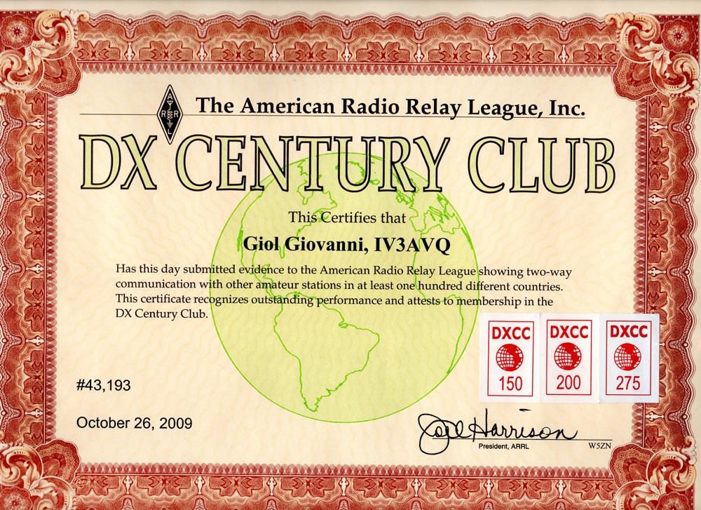 Dxcc MIX, RTTY , CW, 10,15,20 40.