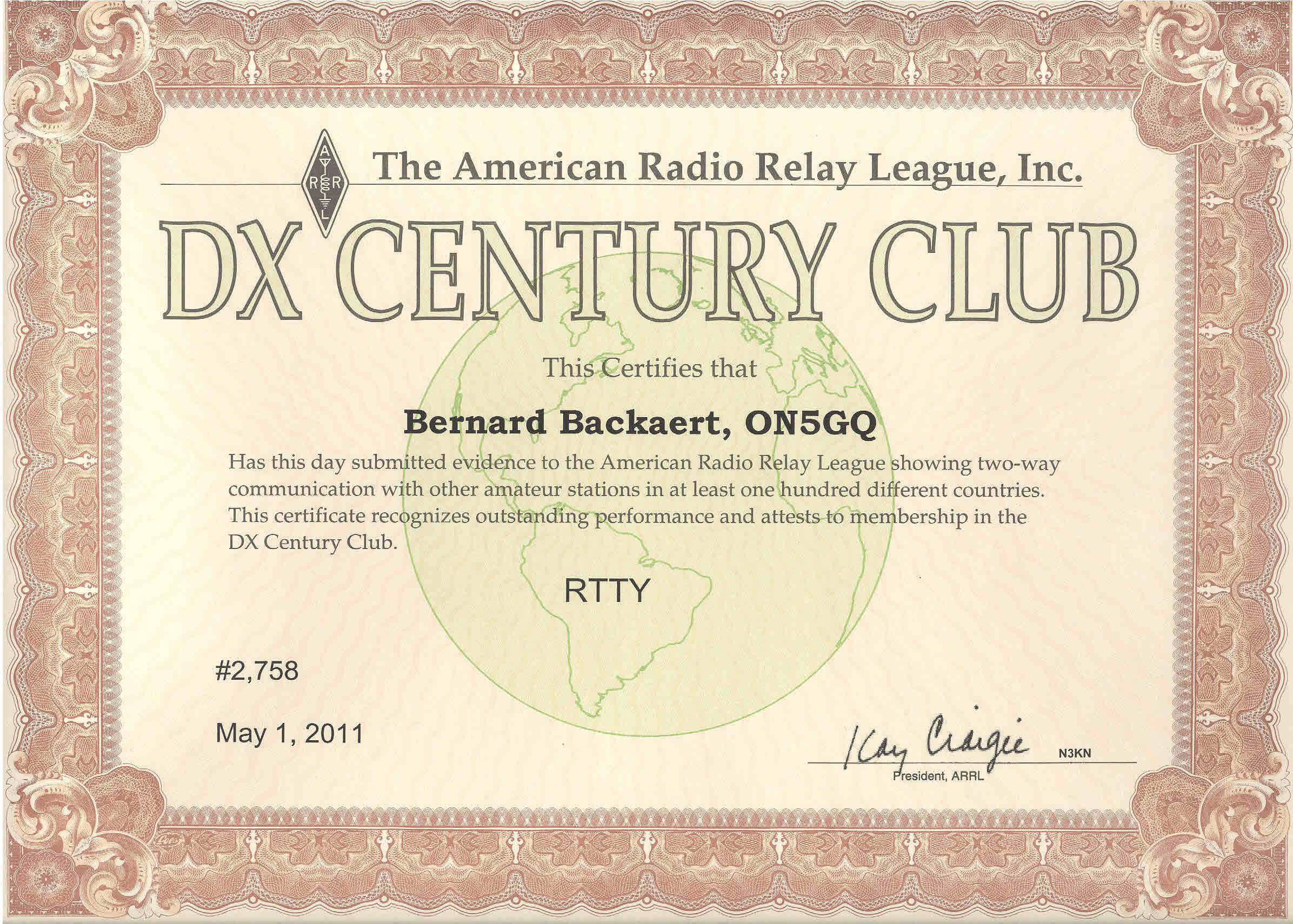 DXCC RTTY
