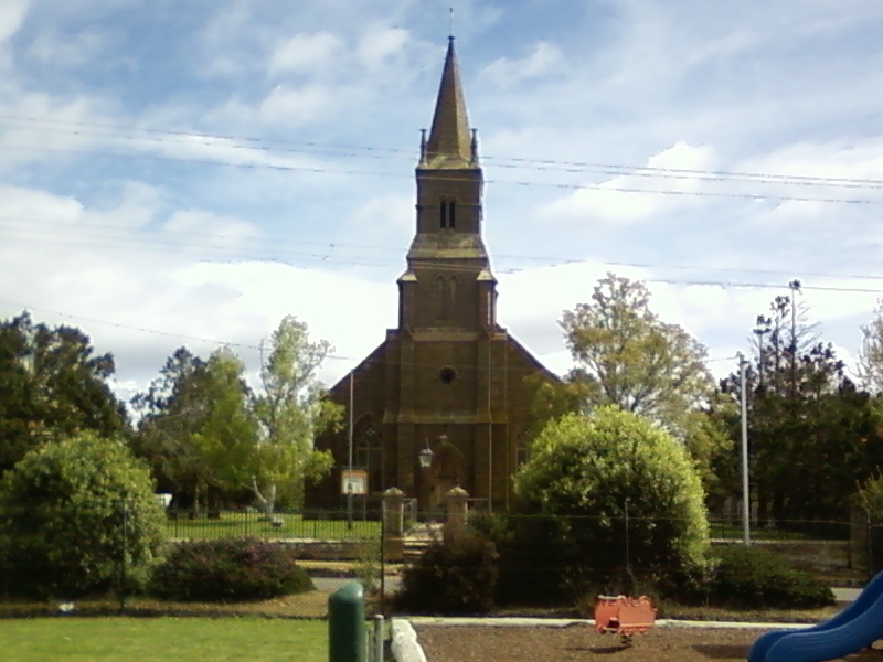 on of our oldish churches , built in the 1820,s