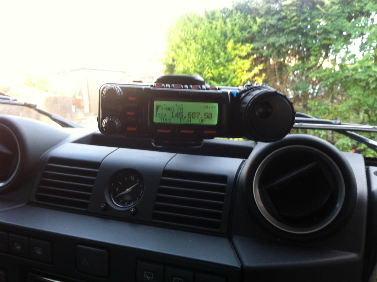 My Radio in the Landy