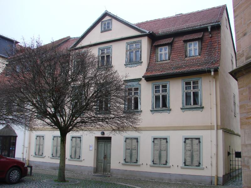 Geburtshaus von Otto Dix in Gera-Untermhaus