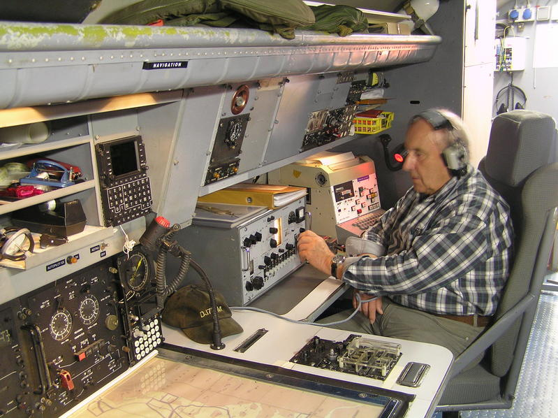 Navigator und Radiooperateur