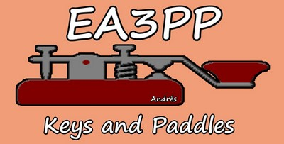 EA3PP Keys and Paddles