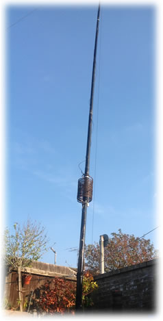 12m vertical antenna for 40 & 80 meters