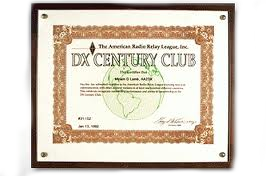 dx century club award