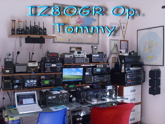 IZ8OGR Shack Radio