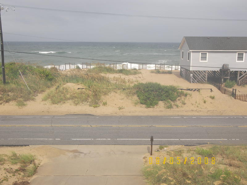 View from my deck looking east - Atlantic ocean