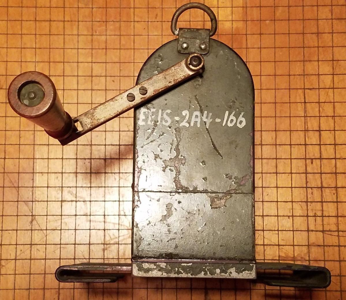Kn4r Callsign Lookup By Qrz Ham Radio Generator Circuit Breaker Ebay Heres Another Example Of An Eeis Examined Item A Wwii Japanese Army