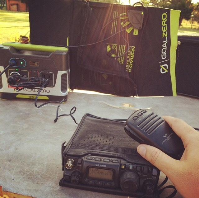 solar life hamradio operator