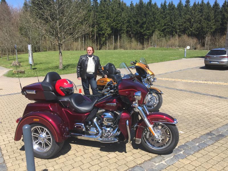 Harley Tri Glide mod 2016