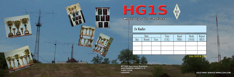 NEW QSL FROM 01.01.2015