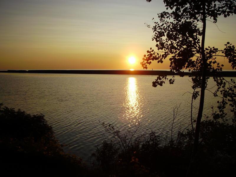 Sunset over Lake Ontario NY