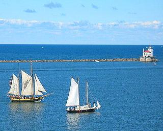 Sailing on Lake Ontario NY