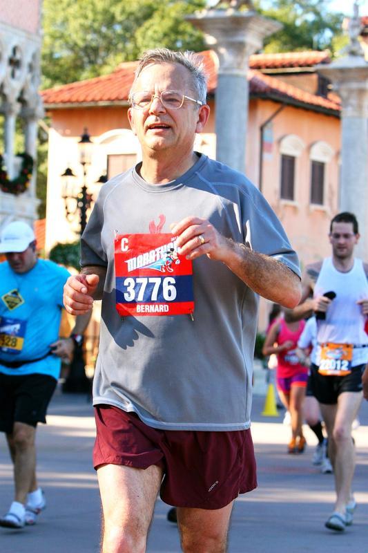 Marathons:  Honolulu 1981, Honolulu 2005, Walt Disney World 2007, Walt Disney World 2008, Walt Disney World 2009, Walt Disney World 2010, Walt Disney World 2011, Walt Disney World 2012, Walt Disney World 2013, Walt Disney World 2014.