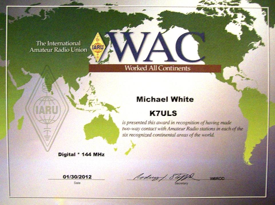 WAC 144 DIGITAL