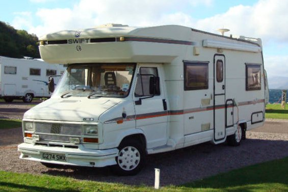 Here is My Motorhome  Swift Kontiki 640