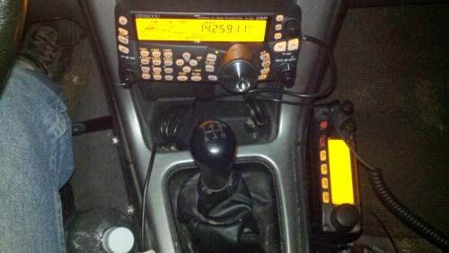 Kenwood TS480 HX and Yaesu 2900 R