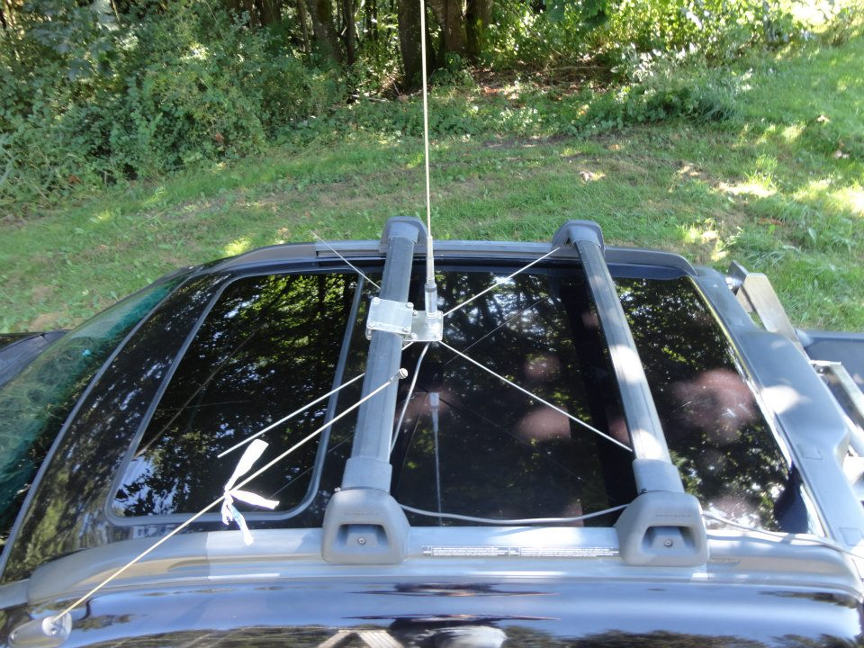 Ground system for the Diamond NR 22L 2 meter only antenna