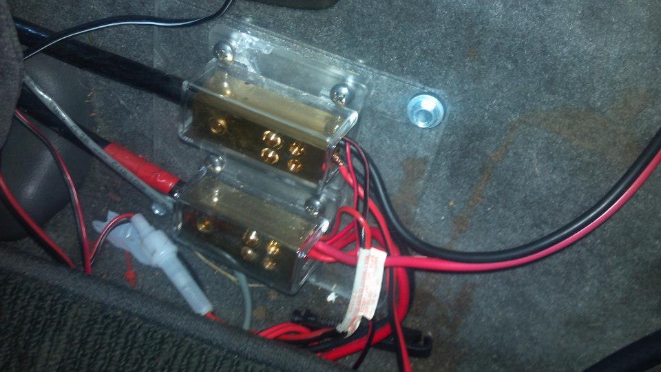 Wiring inside