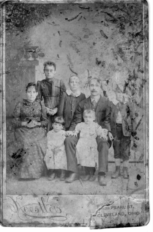 great grand parents and family