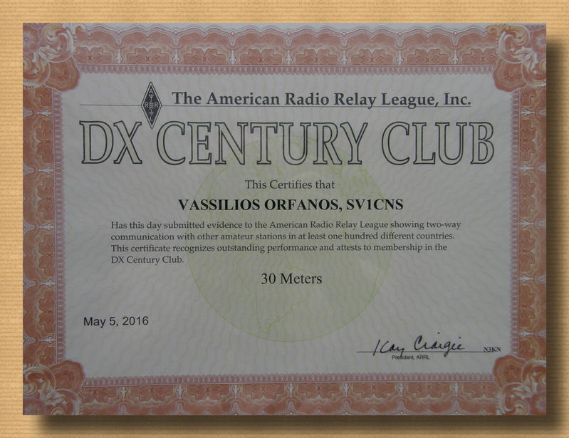 dxcc 30 m
