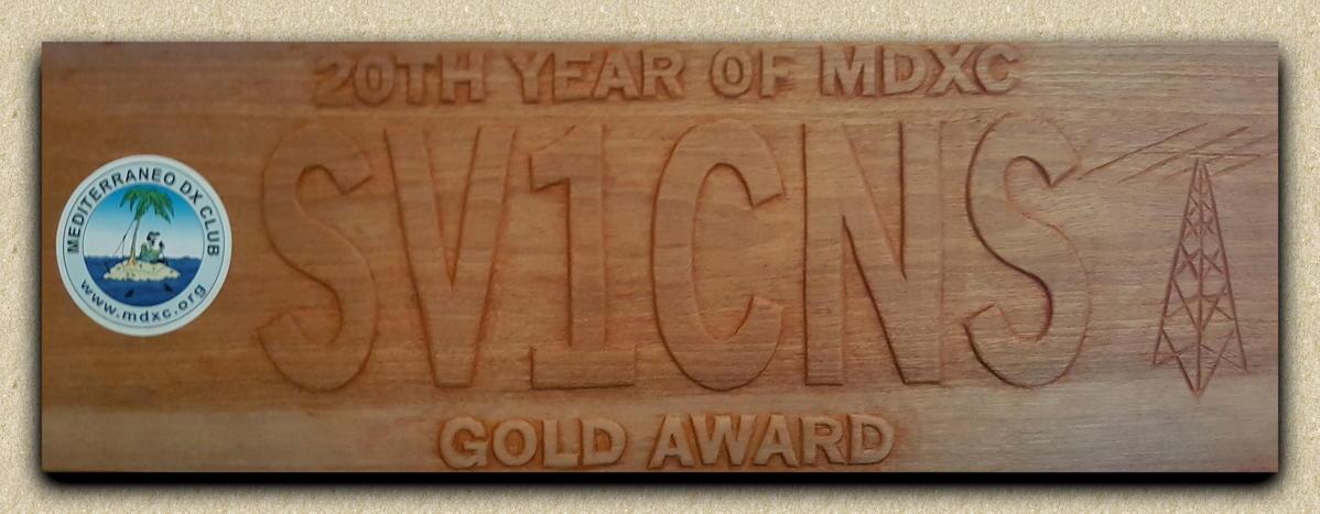 MDXC GOLD AWARD
