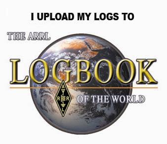 I upload my logs to ARRL LOTW